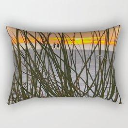 A Walk on the Beach Rectangular Pillow