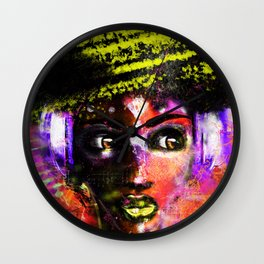 LEMURIAN RECALL: InDiGo MiLk Wall Clock