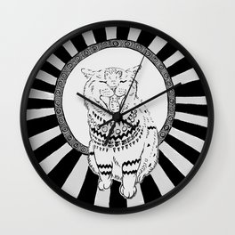 cat2 Wall Clock