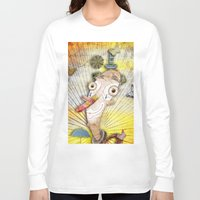 clown Long Sleeve T-shirts featuring Clown by José Luis Guerrero