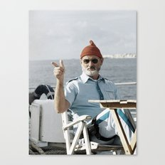 LIFE AQUATIC Canvas Print