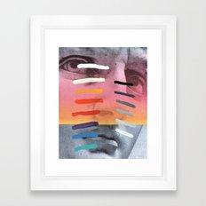 Composition on Panel 4 Framed Art Print