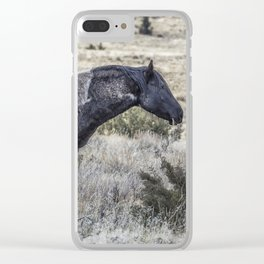I Don't Mind Getting Dirty Clear iPhone Case