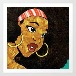 AfroChic Art Print