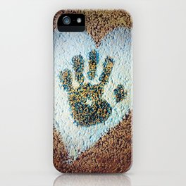 Hand My Heart iPhone Case