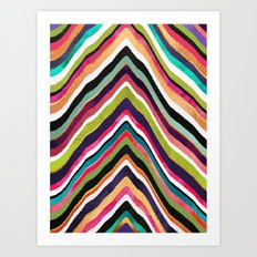 Color Slice Art Print