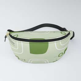 Midcentury Modern Bowls & Stones Chartreuse Fanny Pack