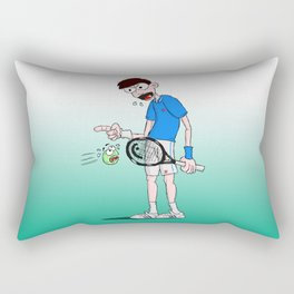Novak Djokovic Rectangular Pillow