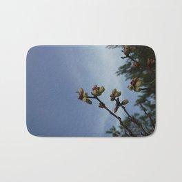 BlueberryBlossoms Bath Mat