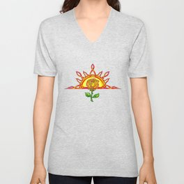 Tudor's Sunrise Unisex V-Neck