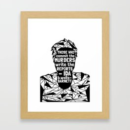 Sandra Bland - Black Lives Matter - Series - Black Voices Framed Art Print