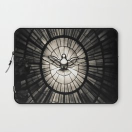The Holy Spirit as a dove Laptop Sleeve