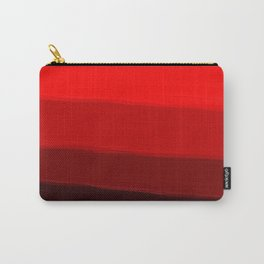 Ombre in Red Carry-All Pouch