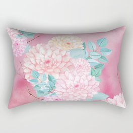 Dahlia Bush #society6 Rectangular Pillow