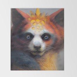 Exotic Fox Throw Blanket