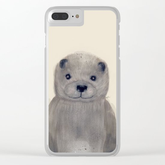 little otter Clear iPhone Case