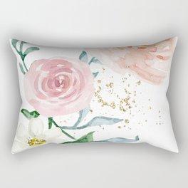Rose Arrangement No. 1 Rectangular Pillow