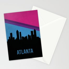 Atlanta Skyline Stationery Cards