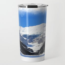 Lake Louise in Banff National Park Travel Mug