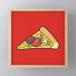 Pizza Slice Framed Mini Art Print