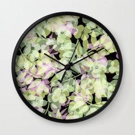 Retro .Summer days. Wall Clock