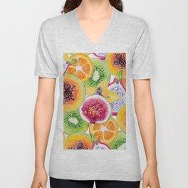 Tutti Frutti summer delight Unisex V-Neck