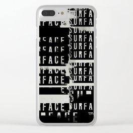 « survie » Clear iPhone Case