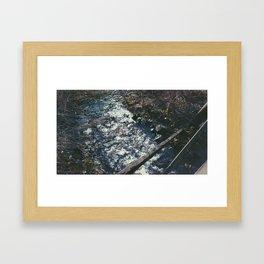 Hidden Creek Framed Art Print