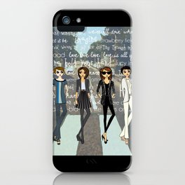Beatlemania iPhone Case