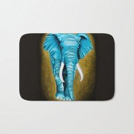 Blue Elephant Bath Mat