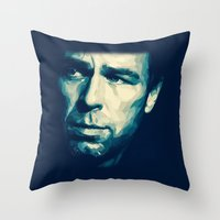 allison argent Throw Pillows featuring Chris Argent by Finduilas