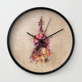 Double bass Wall Clock