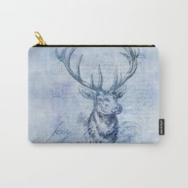 Joy to the world Christmas deer Carry-All Pouch