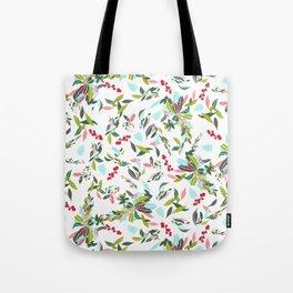 Noel Floral Tote Bag