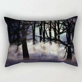 Halloween forest Rectangular Pillow