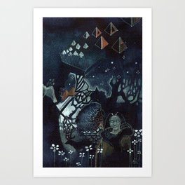 Nights in the North Art Print