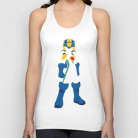 megaman Tank Tops featuring Megaman EXE by JHTY