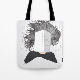 Stay positive - reading Tote Bag