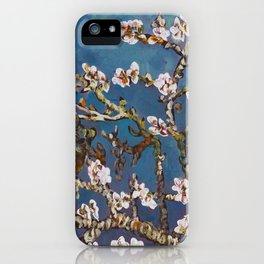 Vincent van Gogh Pink Blossoming Almond Tree (Almond Blossoms) iPhone Case