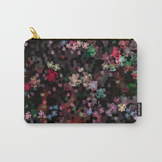 Flower mosaic Carry-All Pouch