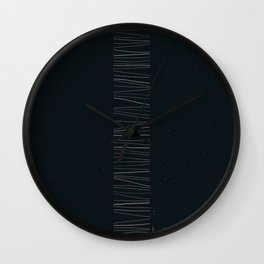 Monolithe Dark 2 Wall Clock