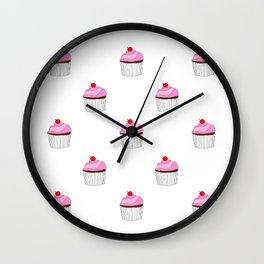 Cupcake Eye Candy Wall Clock