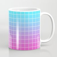 gradient Mugs featuring Gradient by aesthetically
