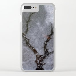 Iced tree Clear iPhone Case