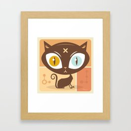 The cat did it... Framed Art Print