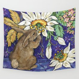 Fragrant Flowers Wall Tapestry