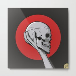 Skull Hamblet  Metal Print