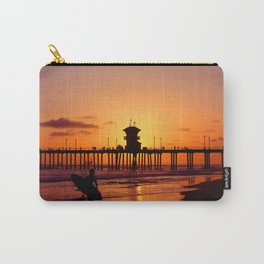 Surfers Sunset Carry-All Pouch