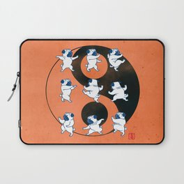 Pug Tai Chi Moves Laptop Sleeve
