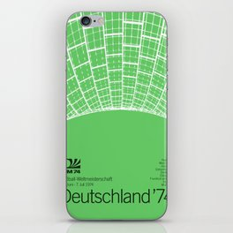 World Cup: West Germany 1974 iPhone Skin